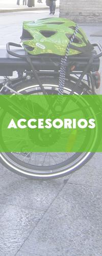 Venta de accesorios para bicicletas eléctricas